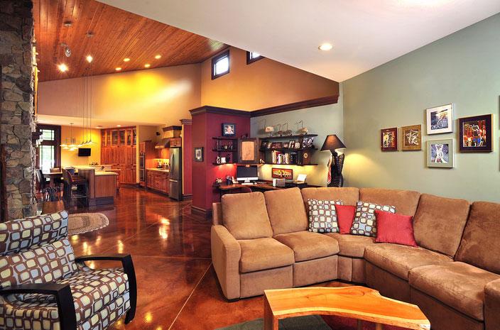 Thomas Residence Living Room